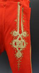 CULOTTE DE TAMBOUR MAJOR D'INFANTERIE, PREMIER EMPIRE. (2)