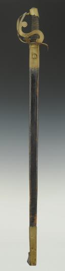 Photo 2 : SABRE DE CAVALERIE, modèle 1783, dit ARCO, Ancienne Monarchie.
