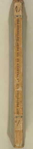 Photo 2 : Instruction provisoire sur la pratique du Tir (direction de l'Infanterie) du 1er/09/1920