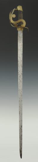 Photo 4 : SABRE DE CAVALERIE, modèle 1783, dit ARCO, Ancienne Monarchie.