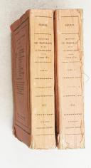 SEGUR. (Comte de). Histoire de Napoléon et de la Grande Armée pendant l'année 1812. 4e édition avec un atlas.