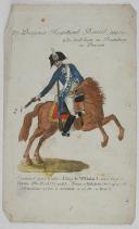 PLANCHE 27, DRAGONER REGIMENT BORSTER, 1727