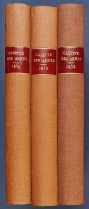 GAZETTE DES ARMES, n° 12 de janvier 1974 au n° 77 de décembre 1979.  (1)