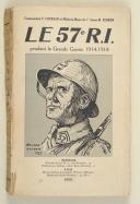 Photo 1 : COURAUD (Cdt) & FERRON. Le 57e R.I. pendant la grande guerre 1914-1918.
