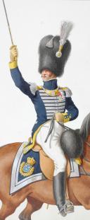Photo 2 : 1818. Garde Royale. Infanterie (3e Régiment), Chef de Bataillon