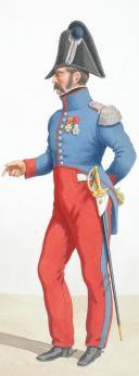 Photo 2 : 1820. Hussards. Hussard (4e Régiment - du Nord), Capitaine-Commandant (3e Régiment - de la Moselle).