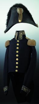 UNIFORME DE PETITE TENUE POUR MARÉCHAL DE CAMP PREMIÈRE RESTAURATION (AVRIL 1814 - MARS 1815) (2)
