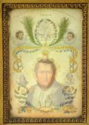 Photo 2 : LITHOPHANIE À SUJETS RELIGIEUX  MASQUANT LE PORTRAIT DE NAPOLÉON, RESTAURATION.
