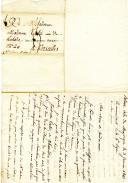 Photo 2 : 14 LETTRES DU COLONEL RAYMOND-JEAN BAPTISTE TEULET À SON ÉPOUSE ET À SON FILS pendant sa captivité à Palma et à Chesterfield, 1809-1813.