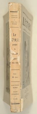 Photo 2 : COURAUD (Cdt) & FERRON. Le 57e R.I. pendant la grande guerre 1914-1918.