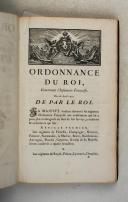 Photo 4 : Ordonnances du Roi