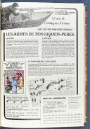 GAZETTE DES ARMES, n° 12 de janvier 1974 au n° 77 de décembre 1979.  (5)