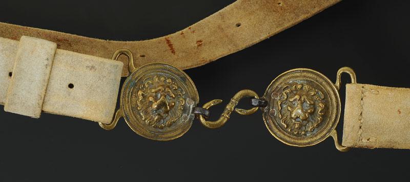 11,5 cm Textile 41 CAVALCADE ceinturon 14601, Noir Rembourré