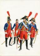 Photo 1 : PÉTARD MICHEL, PLANCHE ORIGINALE AQUARELLÉE : ESPAGNE :  ÉTAT-MAJOR, 1808, PREMIER EMPIRE.