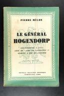 MELON. Le Général Hogendorp.