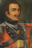 Photo 2 : LIEUTENANT DU 2ème RÉGIMENT DE LANCIERS, 1830, MONARCHIE DE JUILLET.