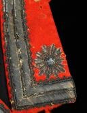 HABIT D'OFFICIER DES GARDES DU CORPS DE LA MAISON MILITAIRE DU ROI, MODÈLE 1814, RESTAURATION. (14)
