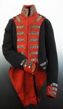 HABIT D'OFFICIER DES GARDES DU CORPS DE LA MAISON MILITAIRE DU ROI, MODÈLE 1814, RESTAURATION. (1)