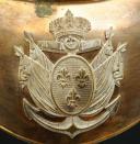 Photo 2 : HAUSSE-COL D'OFFICIER DES BATAILLONS COLONIAUX, MODÈLE DU 8 août 1814, RESTAURATION.