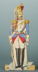 SOLDATS DE STRASBOURG : 2 CENT-GARDES DE NAPOLÉON III, SECOND EMPIRE. (3)