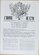 """Photo 4 : """" Armes et uniformes de l'histoire, Gazette des uniformes  """" - Revue - Paris - 1975"""