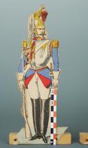 SOLDATS DE STRASBOURG : 2 CENT-GARDES DE NAPOLÉON III, SECOND EMPIRE. (4)