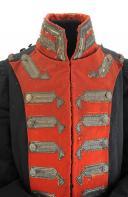 HABIT D'OFFICIER DES GARDES DU CORPS DE LA MAISON MILITAIRE DU ROI, MODÈLE 1814, RESTAURATION. (5)