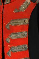 HABIT D'OFFICIER DES GARDES DU CORPS DE LA MAISON MILITAIRE DU ROI, MODÈLE 1814, RESTAURATION. (9)