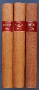 CIBLES : LA REVUE DES ARMES ET DU TIR du n° 53 de janvier 1974 au n° 118 de décembre 1979.