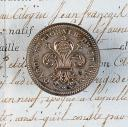 BOUTON DE GARDE NATIONALE DE FRANCE, GROS MODULE, MONARCHIE CONSTITUTIONNELLE.