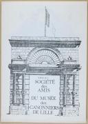 """Photo 2 : """" Le Boute-Feu """" - Bulletin - Musée des canonniers de Lille"""