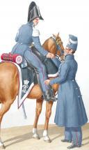1830. Garde Royale. Vétérinaire en Second de Chasseurs, Vétérinaire petite tenue. (2)