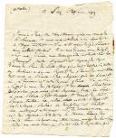 Photo 2 : 8 LETTRES DE L'OFFICIER SAINT-JULIEN À SA MÈRE ET À SA FEMME, 1807-1809.