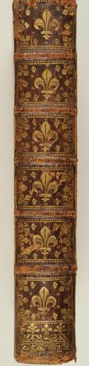 Photo 1 : MANUSCRIT ANONYME lettres provenant du Comte d'Eu, grand maître de l'artillerie. S.l., s.d., in-4, veau brun, dos à nerfs, orné tr. rouge.