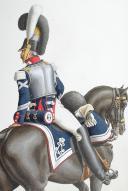 Photo 2 : 1824. Garde Royale. Cuirassiers (1er Régiment). Maréchal des Logis-Fourrier.