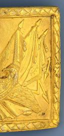 Photo 4 : PLAQUE D'OFFICIER GÉNÉRAL, MODÈLE AN XII, PREMIER EMPIRE.