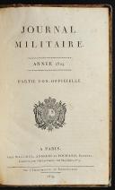 Photo 4 : GARDE IMPÉRIALE - 3. RÉGIMENT DE GRENADIERS - JOURNAL MILITAIRE -  8 volumes.