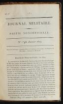 GARDE IMPÉRIALE - 3. RÉGIMENT DE GRENADIERS - JOURNAL MILITAIRE -  8 volumes. (5)