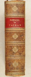 AUGOYAT. Mémoires inédits du maréchal de Vauban sur Landau, Luxembourg et divers sujets.  (1)