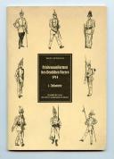 FRIEDENSUNIFORMEN DES DEUTSCHEN HEERES 1914 - INFANTERIE, PREMIÈRE GUERRE MONDIALE.