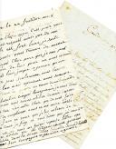 LETTRES DE SOLDATS EN GARNISON À GENÈVE : .. ADAM et VINCENT GARNIAS, adressées à leurs parents respectifs, mai et septembre 1800.