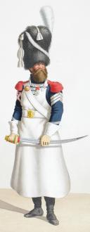 1818. Garde Royale. Infanterie. (1er Régiment), Sapeur, Caporal-Sapeur. (2)