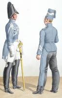 1817. Garde Royale. Maréchaux-Vétérinaires de grenadiers et de Lanciers. (2)