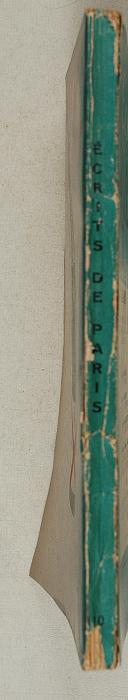 """Revue """"écrits de Paris""""  (2)"""
