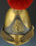 Photo 3 : CASQUE D'OFFICIER DE CARABINIERS, modèle 1830, Monarchie de Juillet.