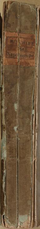 """BARBA - """" Histoire de Bonaparte """" - 1Tome - Troisième édition considérablement augmentée - Paris - 1802 (4)"""