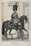Photo 1 : MARTINET : 1er RÉGIMENT DE GRENADIER À CHEVAL DE LA GARDE ROYALE - GRANDE TENUE