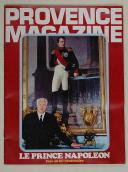 Provence magazine, le prince Napoléon