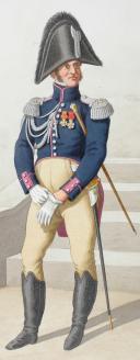 Photo 2 : 1818. Garde Royale. Infanterie. (5e Régiment), Colonel, Sapeur.