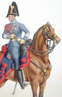 Photo 2 : 1817. Garde Royale. Artillerie. Maréchal Vétérinaire.
